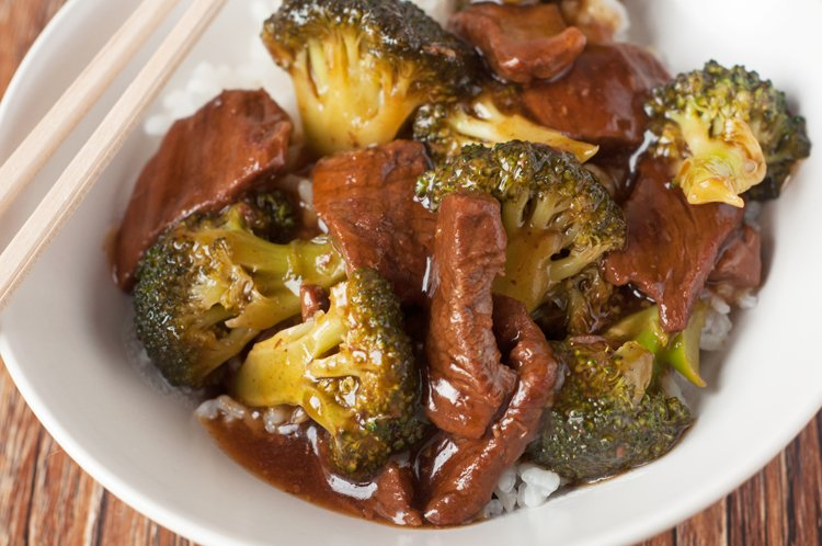 Slow Cooker Take Out Beef and Broccoli