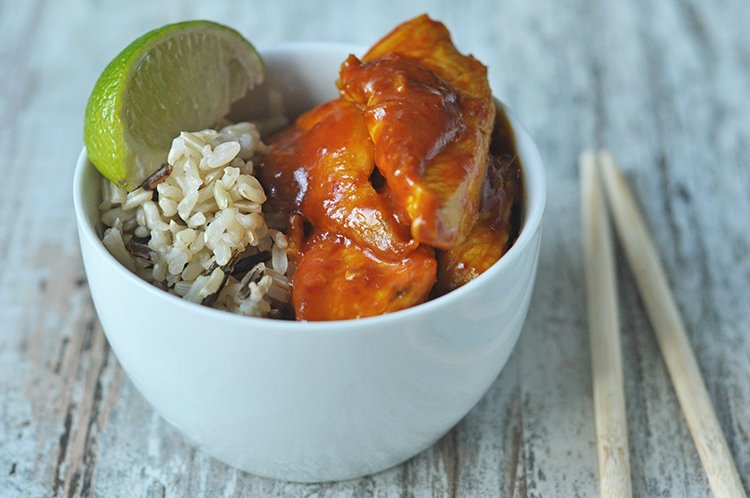 Slow Cooker Thai Chicken Satay