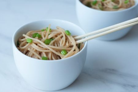 4-Ingredient Sesame Noodles