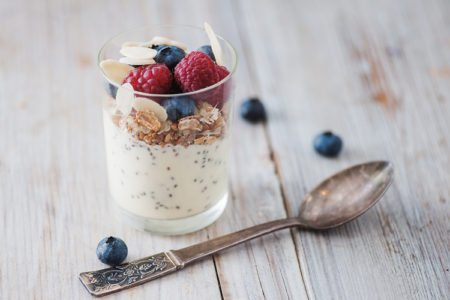Berry and Chia Yogurt Parfait