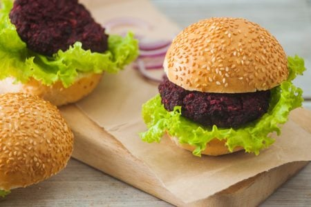 Black Bean Superfood Burgers