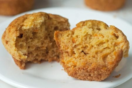Carrot and Honey Muffins