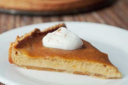Classic Pumpkin Pie with Maple Crust