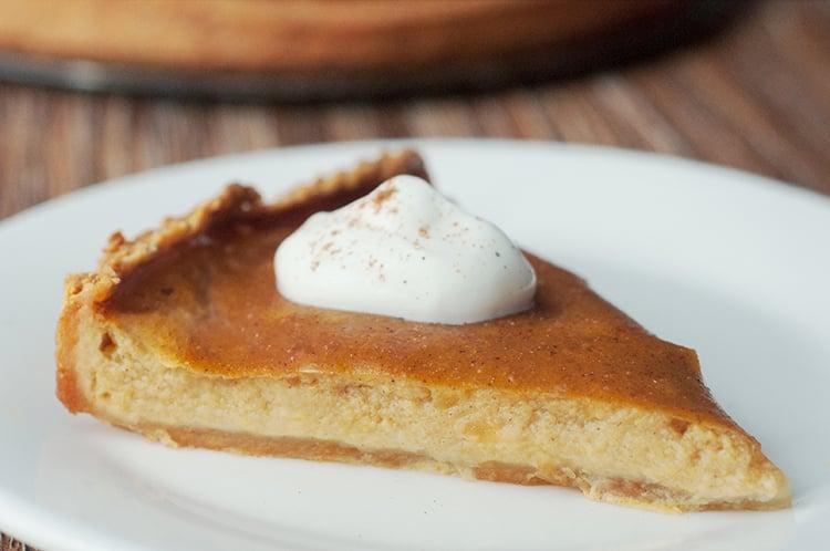 Classic Pumpkin Pie with Maple Crust