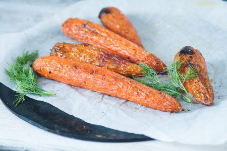 Honey Ginger French Carrots