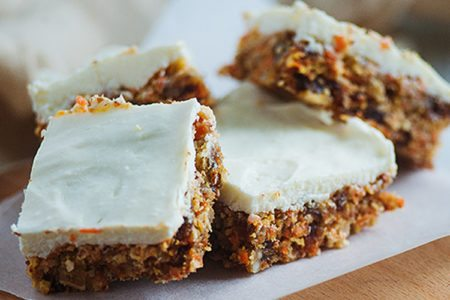 No-Bake Carrot Cake Bites