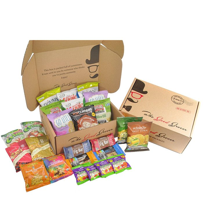 Natural Healthy Snacks Package, Non-GMO
