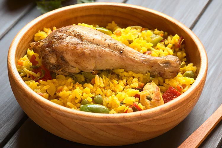 one-pot-chicken-paella
