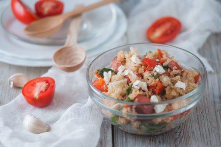 One Pot Turkey Sausage and Mediterranean Quinoa