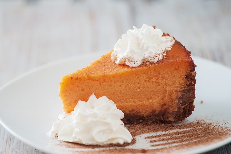 Try our best ever pumpkin cheesecake this holiday season!