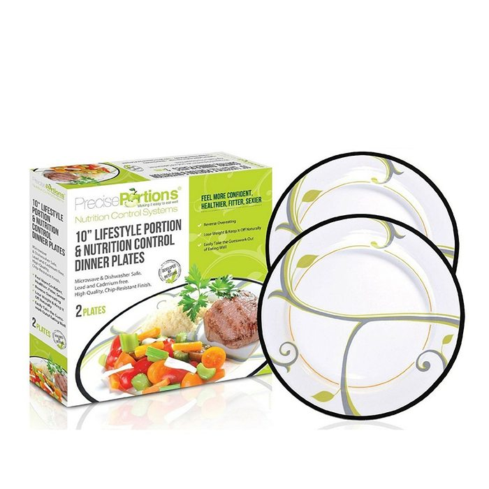 Portion Control Plates Kit – Weight Loss Tool