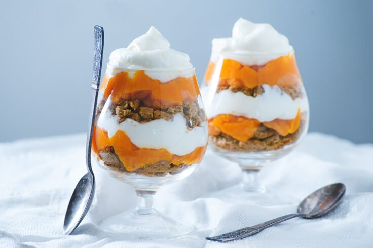 This pumokin trifle recipe looks good but tastes even better!