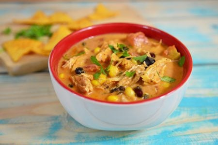 Slow Cooker Chicken Enchilada Stew