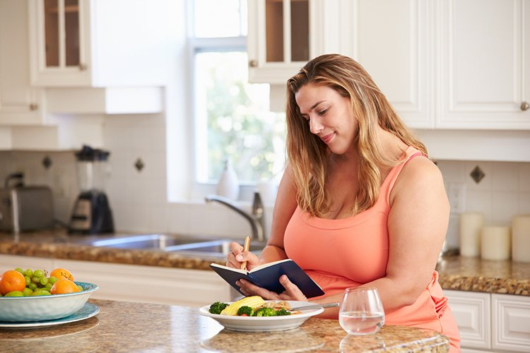 writing down changes for lasting weight loss