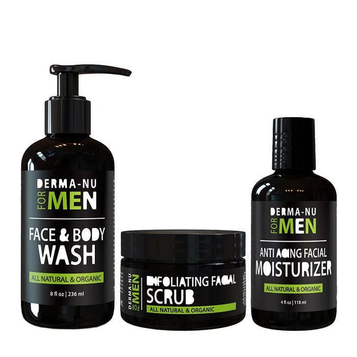 Anti-Aging Daily Skincare Set for Men