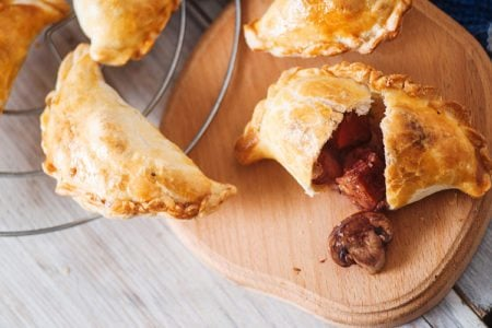 Beef Stew Pasty