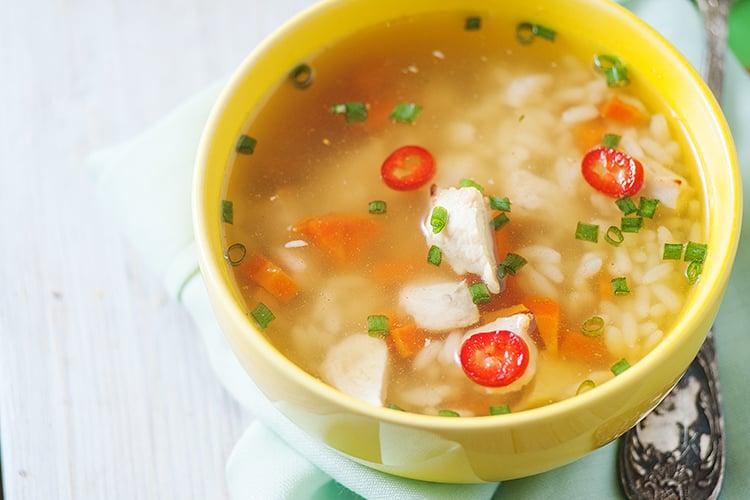 Chicken Turmeric Soup