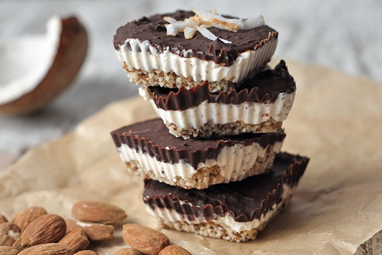 No-Bake Almond Joy Bars