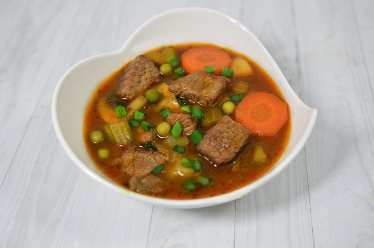 Slow Cooker Loaded Beef Stew