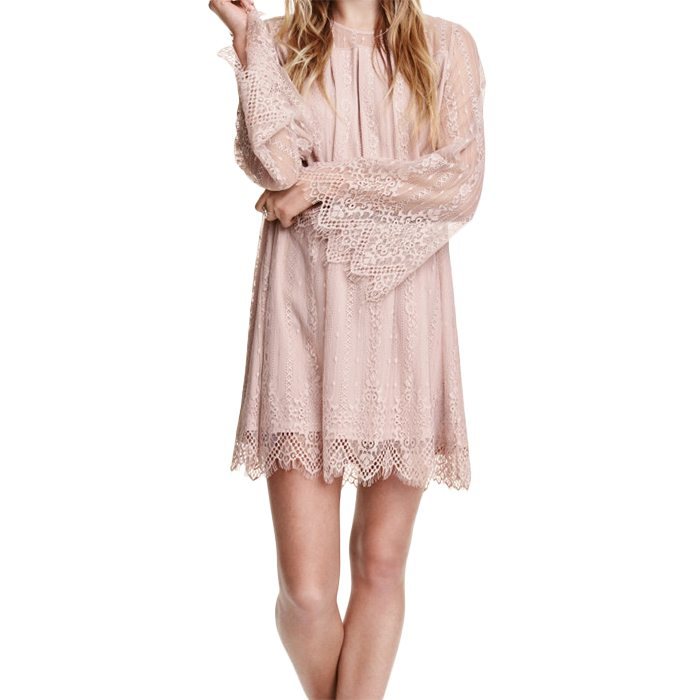 Vintage Short Lace Dress