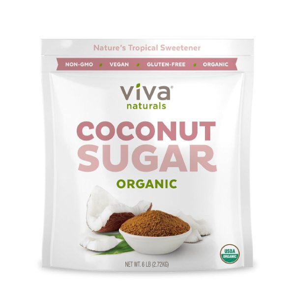 Organic Coconut Sugar – Low-Glycemic