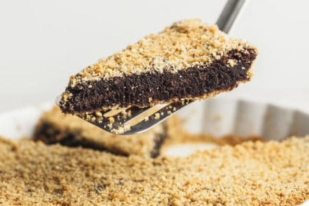 Panko Crusted Brownie Pie Recipe