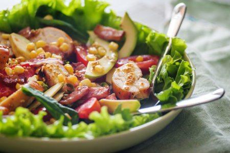 Super Green Honey Mustard Salad