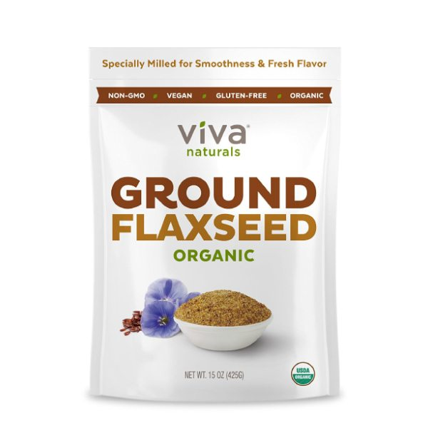 The BEST Organic Ground Flax Seed