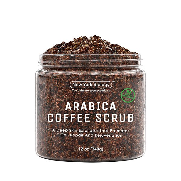 Natural Arabica Coffee Body Scrub for Stretch Marks