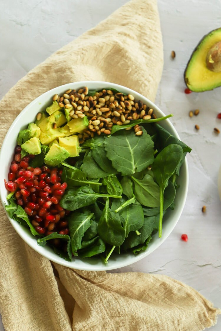 This tasty salad is loaded with nutrient-dense ingredients.