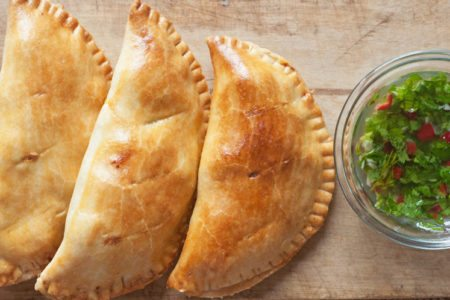 Sweet Potato & Black Bean Pasty