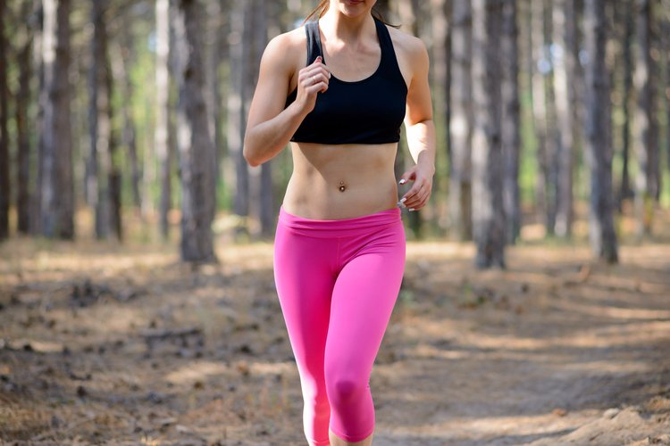 take up walking, jogging, running, or a combination of the three in order to improve your fitness!