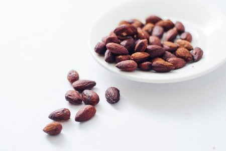 Smoked and Spicy Roasted Almonds