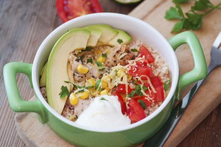 Tex-Mex Quinoa Bowl