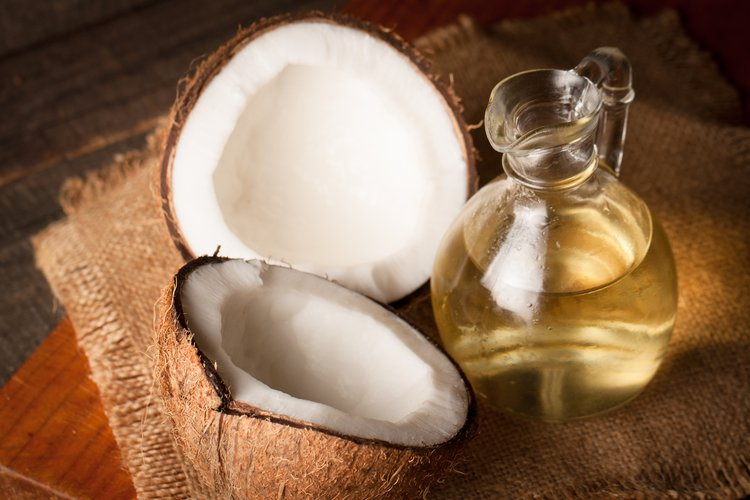 coconut oil to lose the muffin top