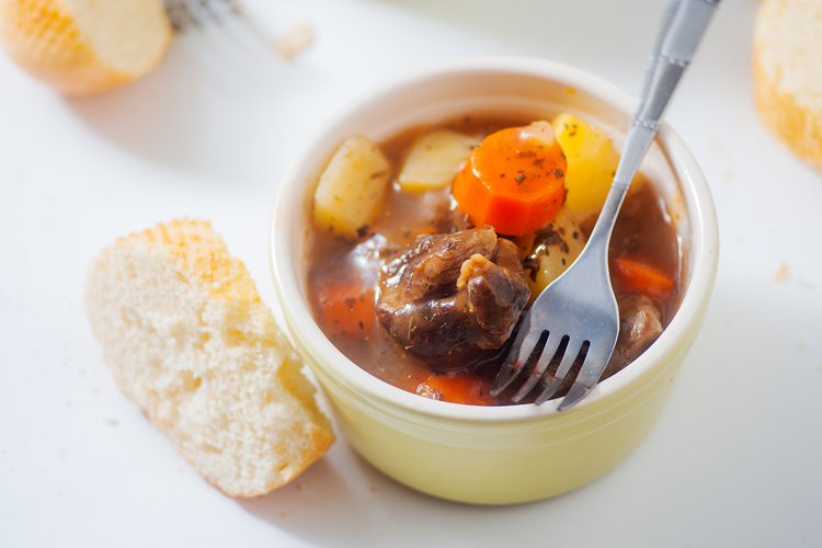 Instant Pot Chunky Beef Stew