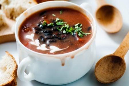 Instant Pot Mexican Black Bean Soup