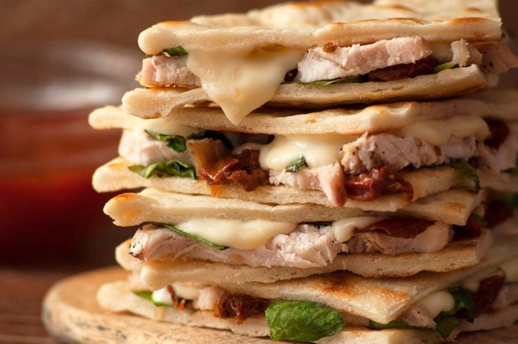 Olive Garden Chicken Piadina Copycat