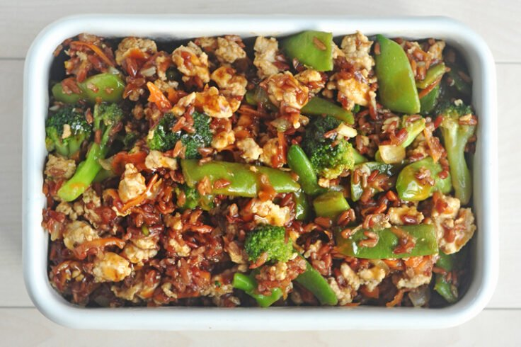 Our teriyaki chicken bake is so much healthier than take-out (but just as delicious!)