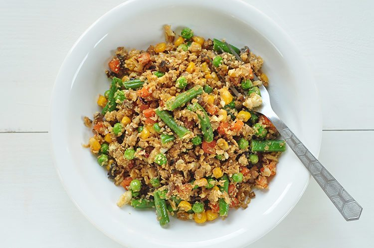 Super easy cauliflower fried rice save ccuart Choice Image