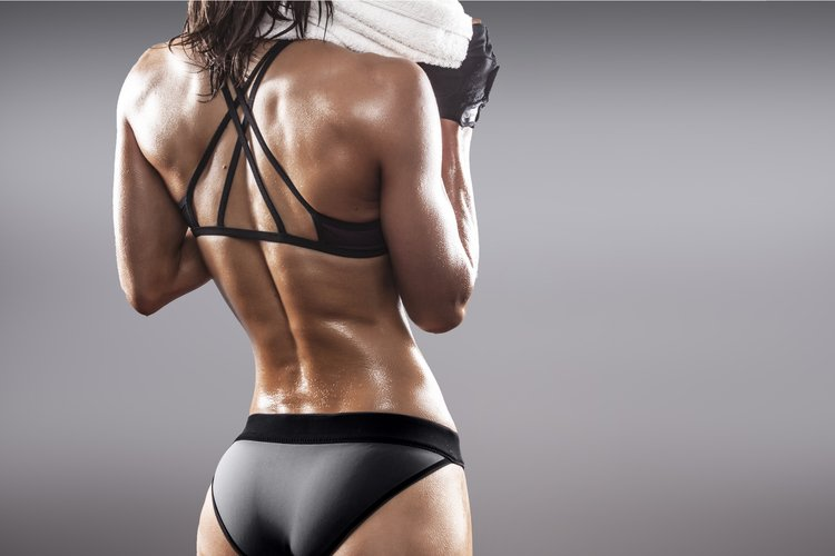 Sexy back exercises for women