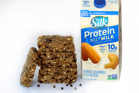 No-Bake Chocolate Chip Protein Bars