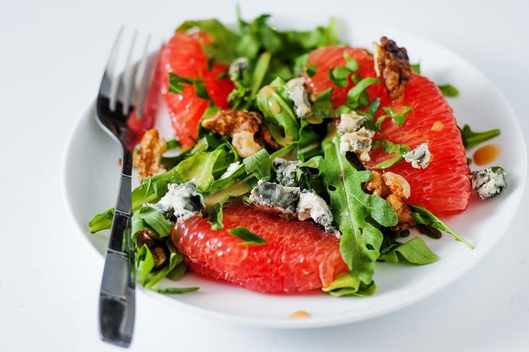 Citrus and Walnut Salad