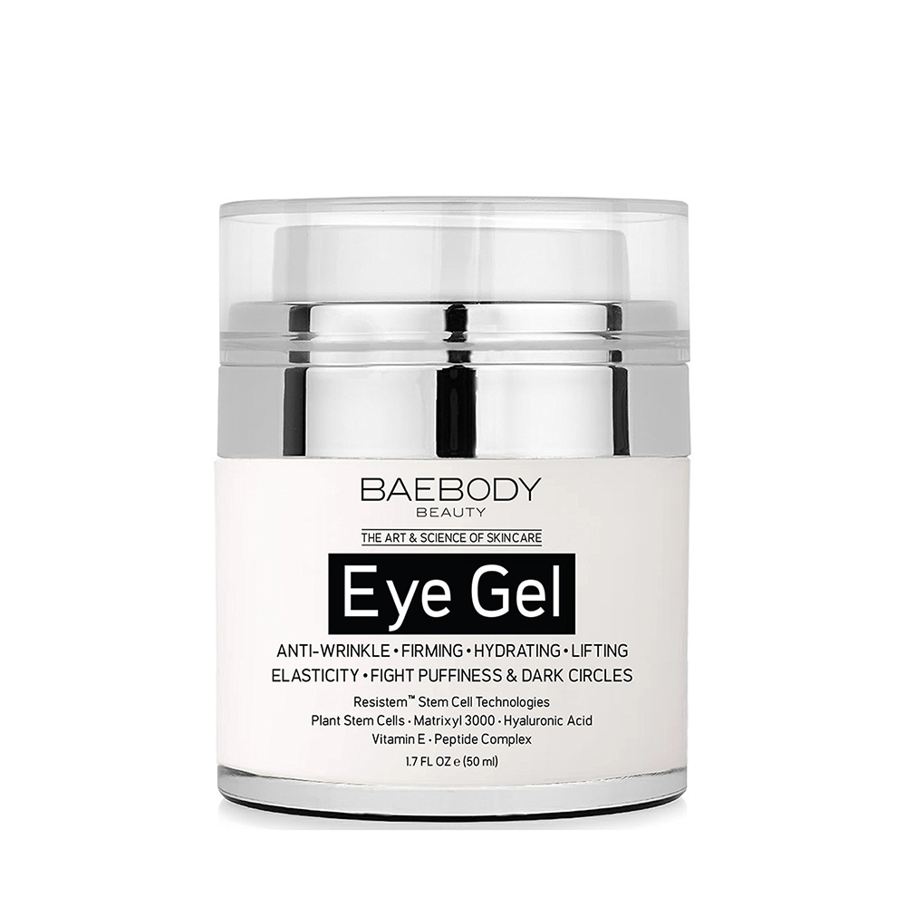 Eye Gel for Dark Circles, Puffiness, Wrinkles & Bags