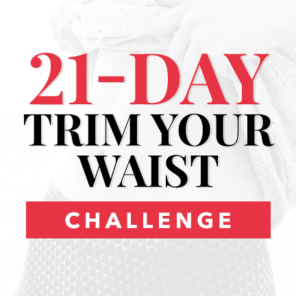 21-day trim your waist challenge