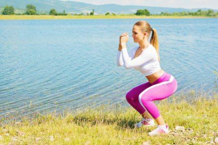 Body Squat Challenge 100