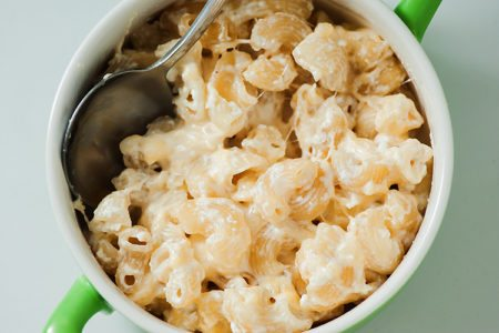 Easy One Skillet Mac and Cheese
