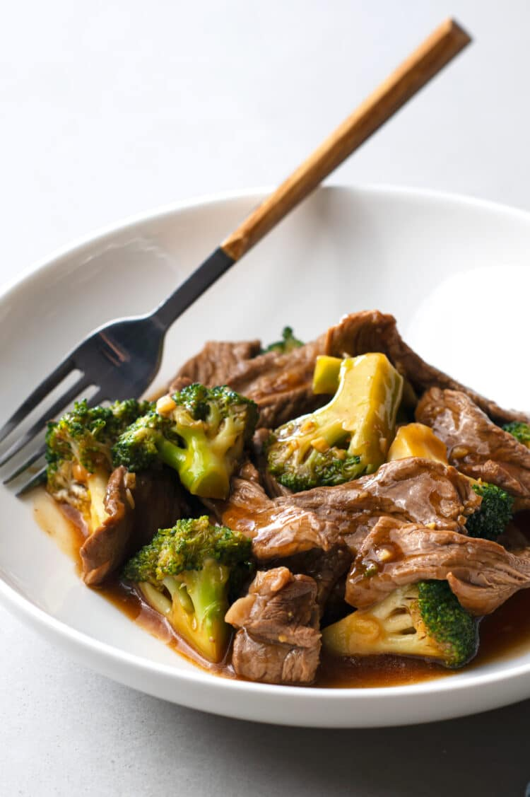 Our slow cooker beef and broccoli is a dinner the entire family will look forward to.