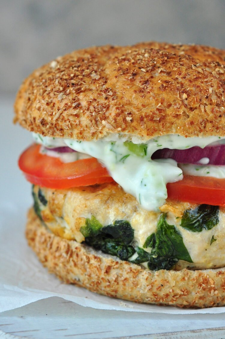 These healthy burgers are a great way to add some excitment back into burger night.