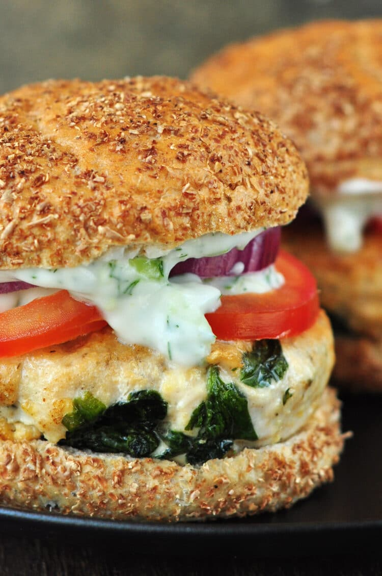The kids will love this lean burger option and so will you!